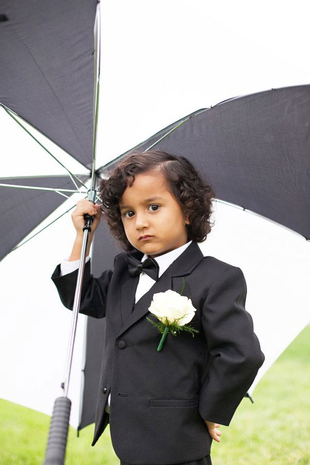Black Tie Ring Bearer
