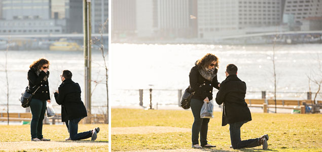 NY Proposal Photography