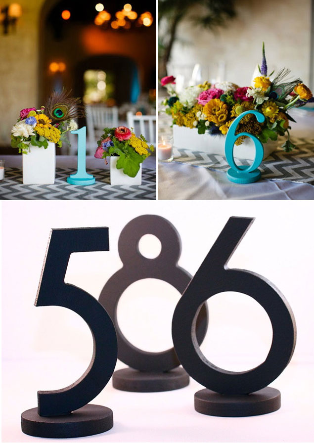 Table Number Giveaway