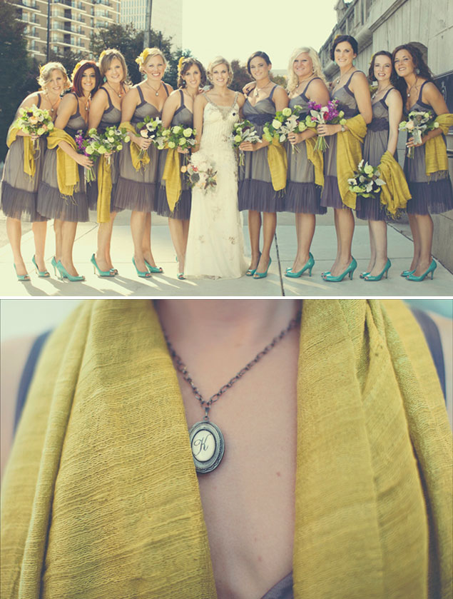 Bridal Party Scarves