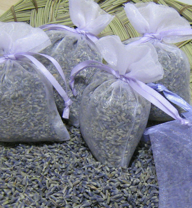 Lavender Sachet Wedding Favors