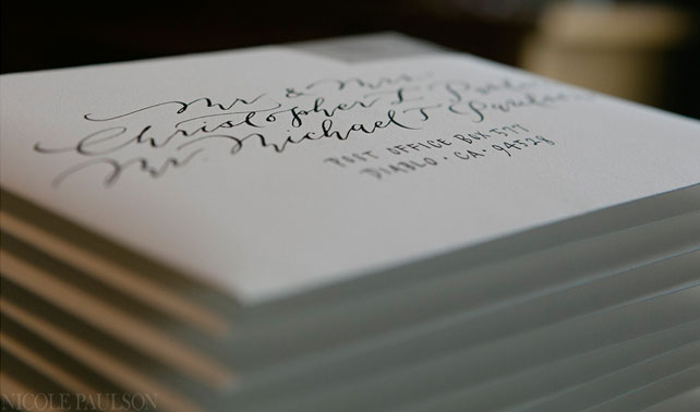 Wedding Invitations Addressing Social Titles