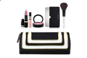 Pink Lip & Cheek Bag