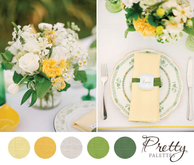 Summer wedding colors pretty palettes 70 for Summer wedding color palette