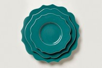 Teal Dinnerware