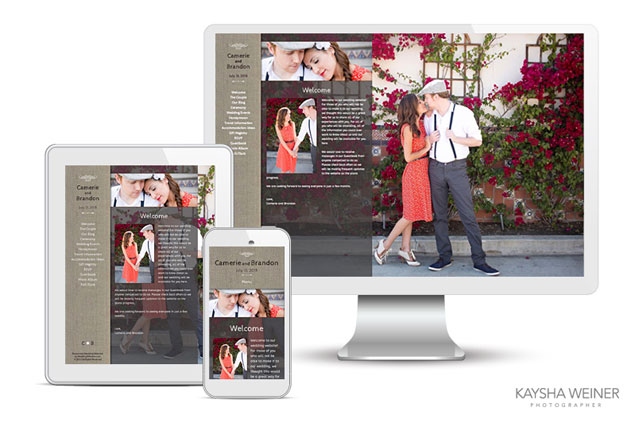 New Responsive Wedding Websites by Wedding Window