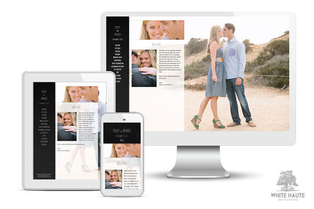 Responsive Wedding Websites by Wedding Window
