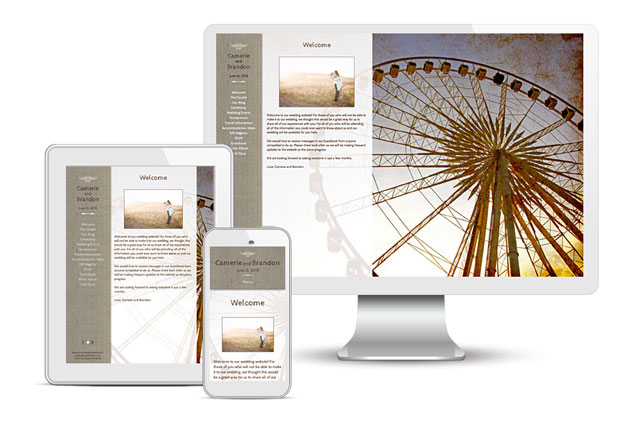 Custom Wedding Websites