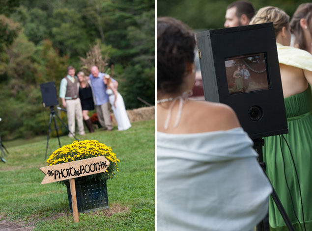 DIY Wedding Photobooth