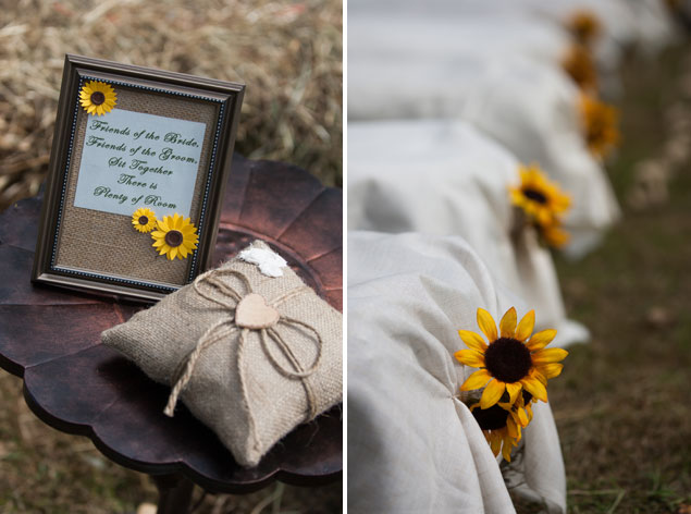 Sunflower Wedding Details