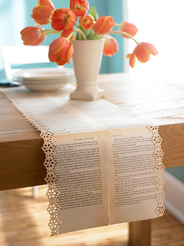 DIY Wedding Table Runners