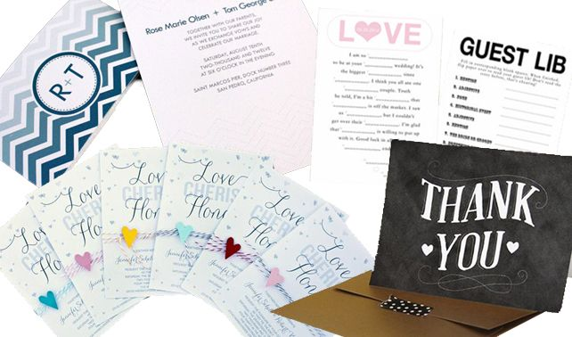 Free DIY Wedding Printables