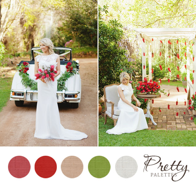 Holiday Wedding Colors