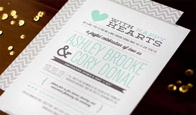 Letterpress Invitations Online as best invitation sample