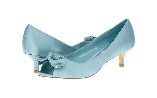 Light Blue Wedding Shoes