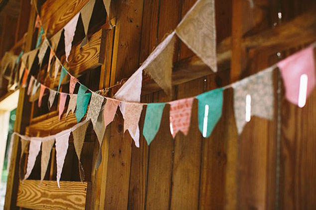 Wedding Bunting Banners