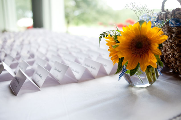 Simple Escort Card Display