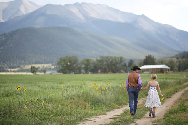 Rocky Mountains Wedding
