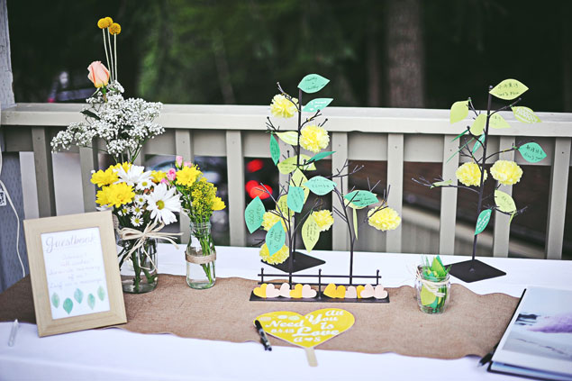 Alternative Guestbook Ideas