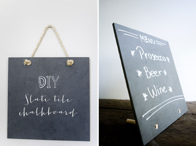 DIY Chalkboard Signs