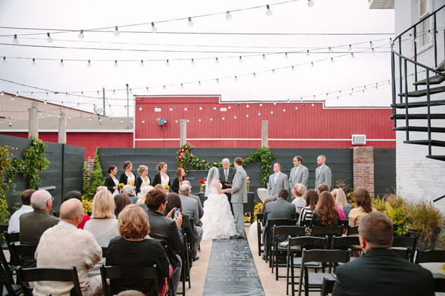 Urban Wedding Ceremony