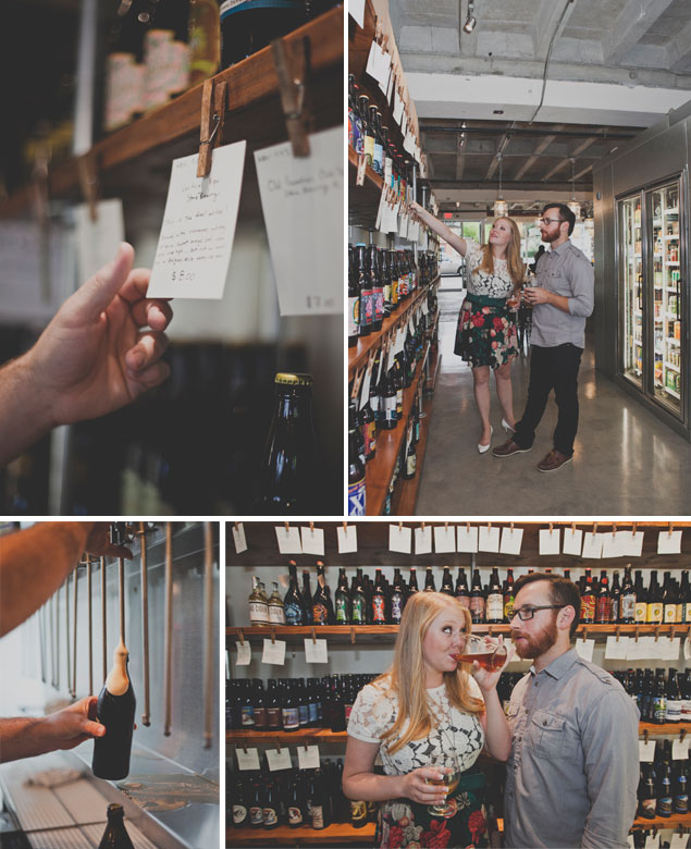Beer Shop Engagement Shoot