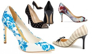Patterned Wedding Shoes