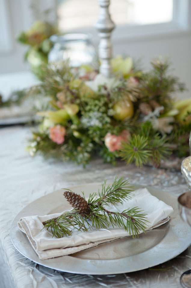 WInter Place Settings