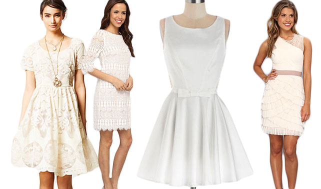 Fave Finds: Little White Dresses