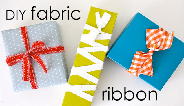 DIY Fabric Ribbons