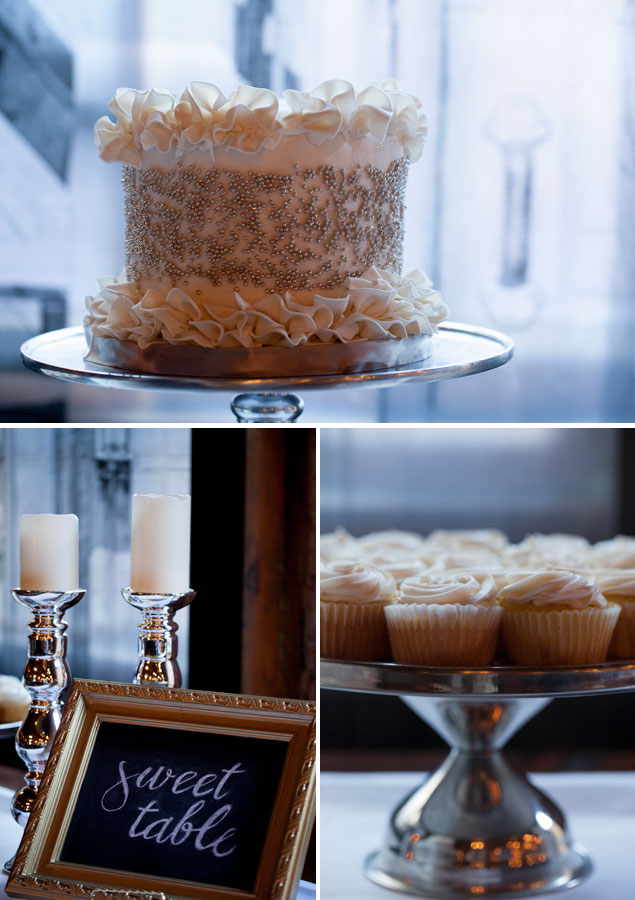 Elegant Wedding Sweets Table