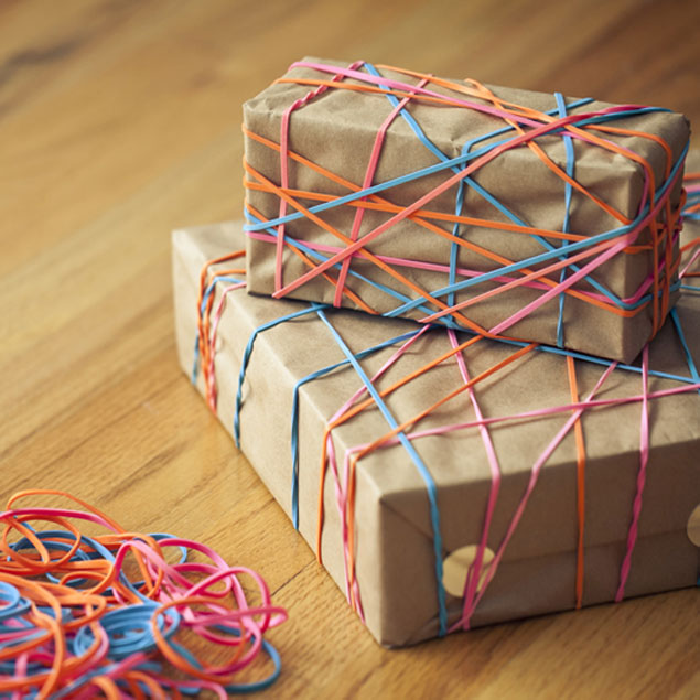Office Supply Gift Wrap