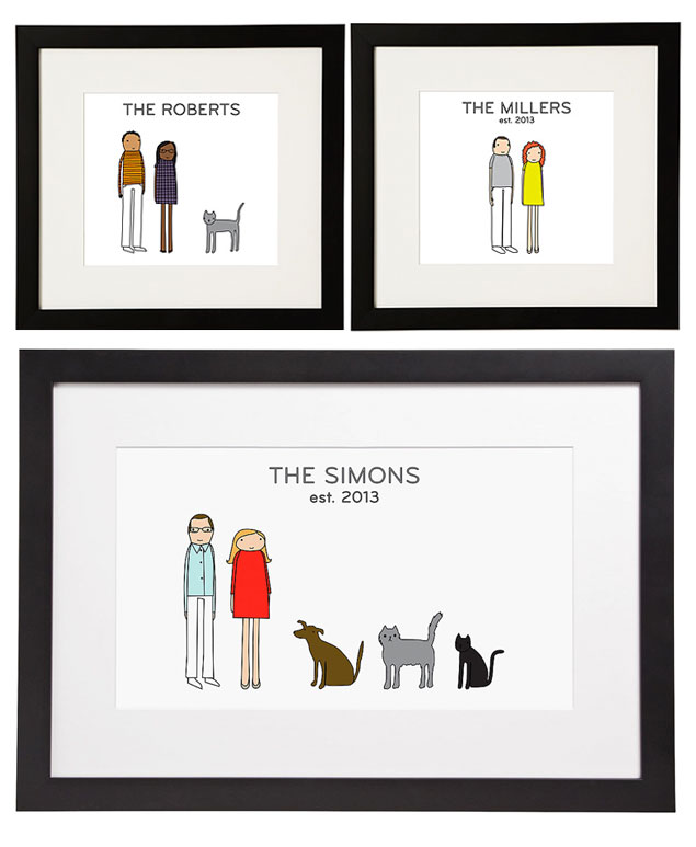 Personalized Couples Print