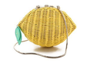 Kate Spade New York Wicker Lemon Bag