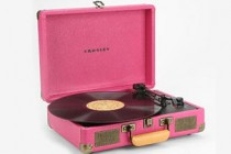 Pink Portable Record Player