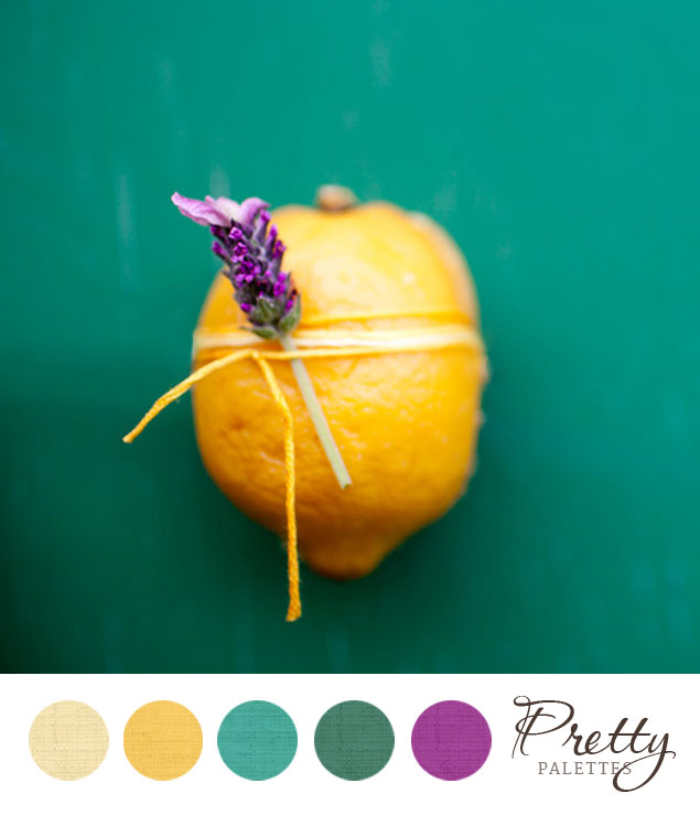 Lemon Color Palette