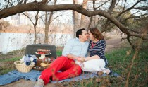 Picnic Engagement Shoot