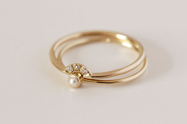 Etsy eye candy tiny rings for Tiny wedding ring