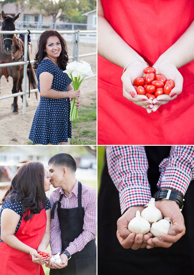 Ranch Engagement Photography