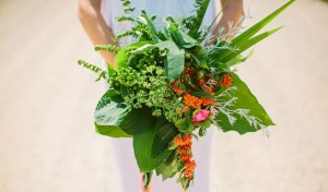 Leafy Wedding Bouquets