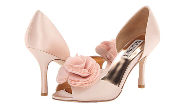 pics for gt light pink wedding heels