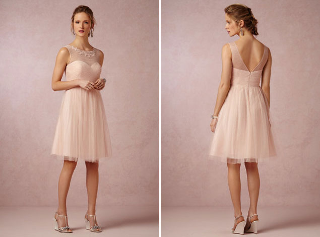 Blush Wedding Dress Bridesmaids : Inspiration blush bridesmaid dresses