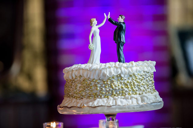 Fun Wedding Cake Toppers
