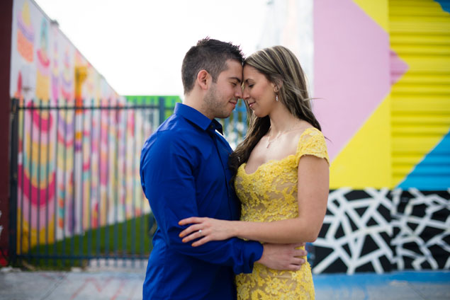 Colorful Engagement Shoot Ideas