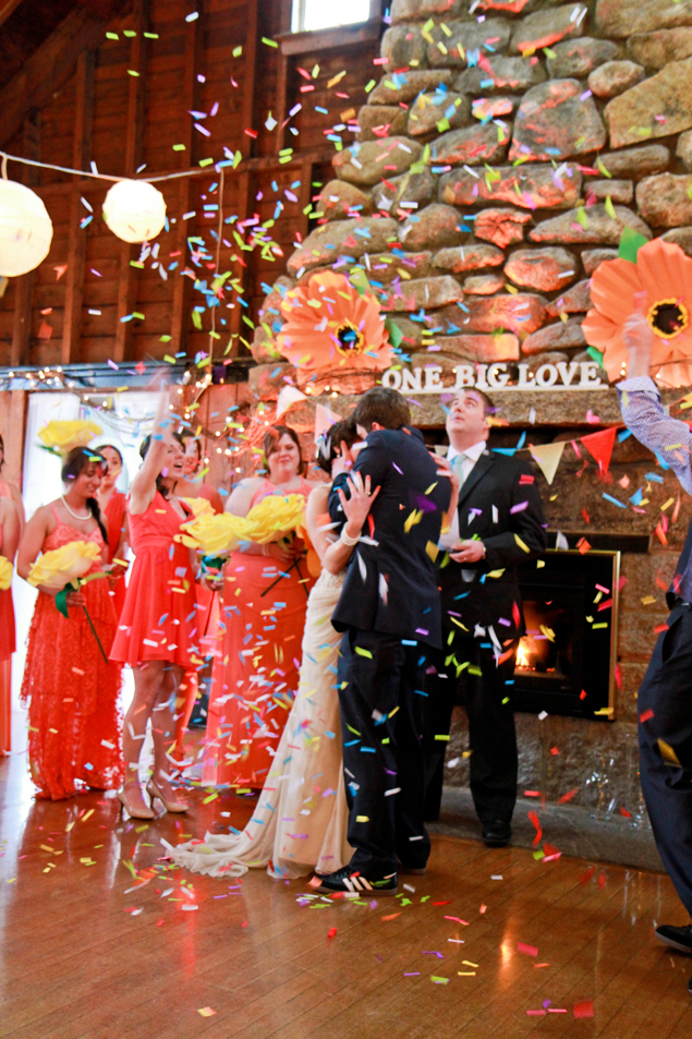 Wedding Ceremony Confetti