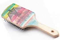 Hand Painted Hairbrush