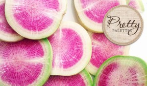 Watermelon Radish Colors