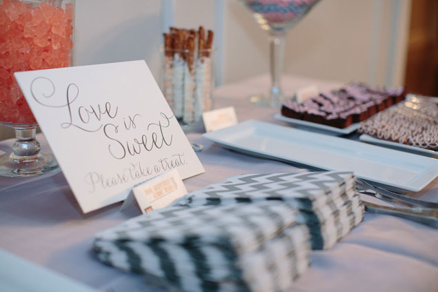 Wedding Sweets Table