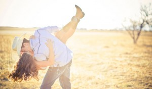 Swing Dancing Engagement Shoot