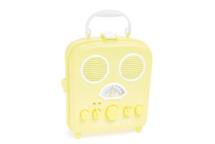 Yellow Beach Speaker & Radio